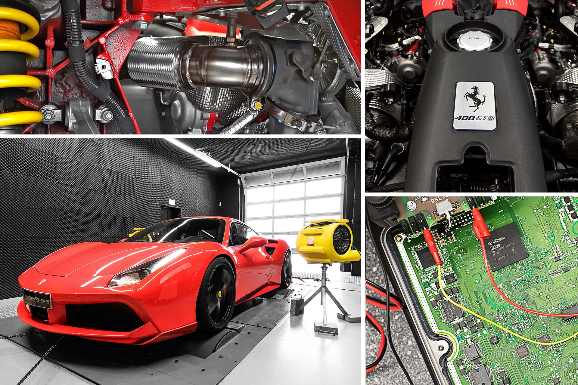 Performance Upgrade Ferrari 488 Gtb 3 9 V8 Stage 2
