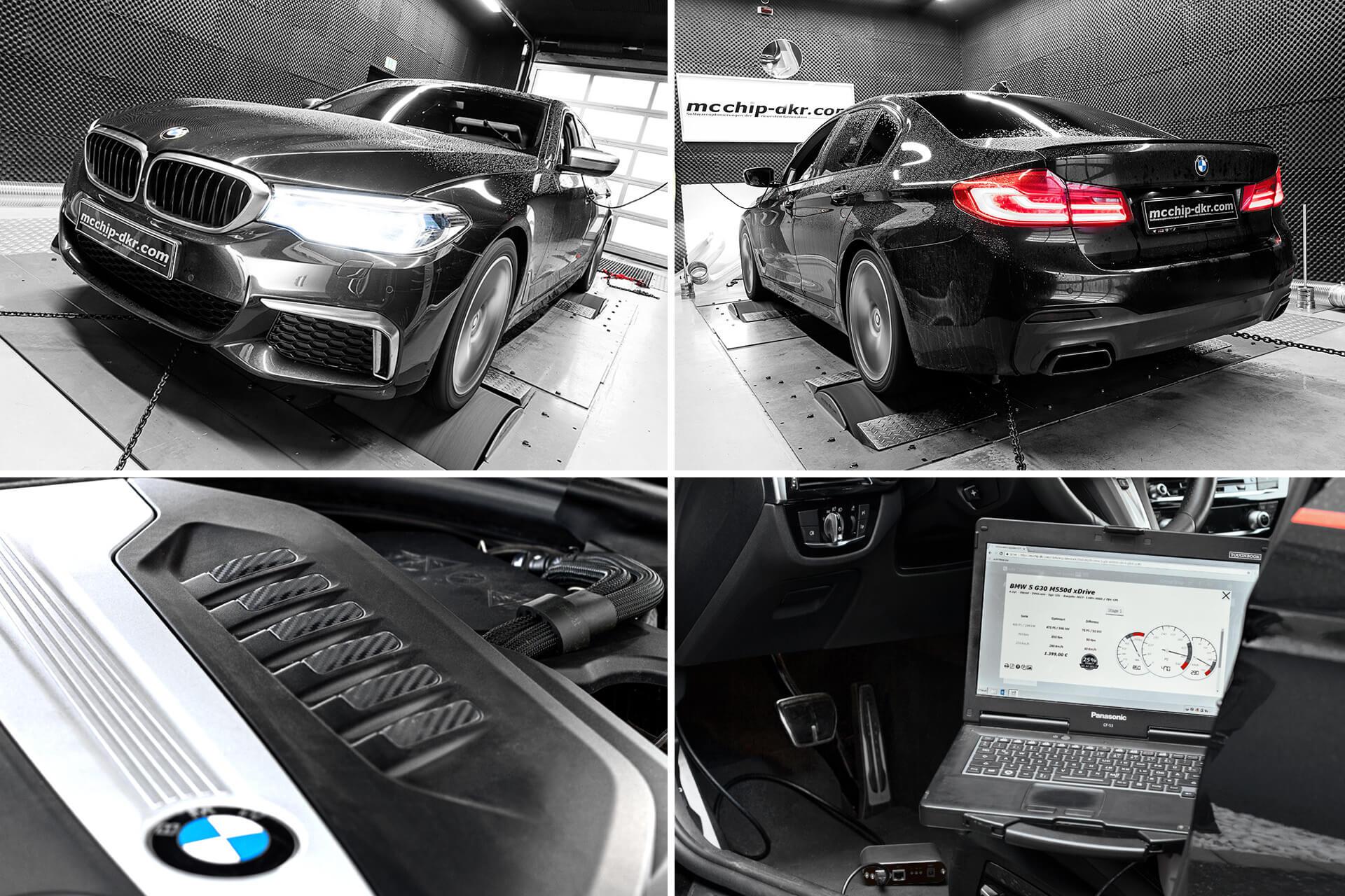 OBD Chiptuning + VMax BMW 5er G30, G31, 6er G32, 7er G11, G12