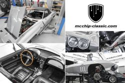 Restauration Chevrolet Corvette C2 Sting Ray Teil 3