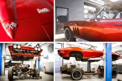 Restauration Chevrolet Corvette C2 Sting Ray Teil 1
